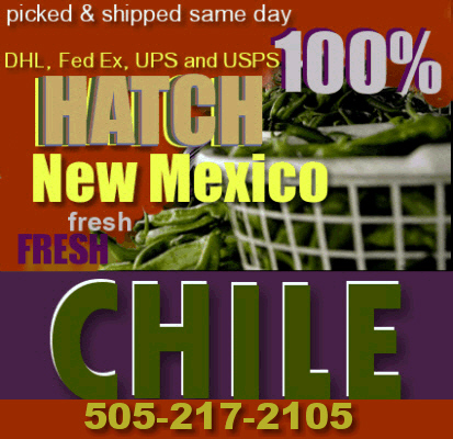 When you need a Hatch chile, or chili fix.. call or order online!