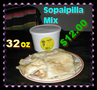 Sopaipilla Mix - top of your meals with sopaipillas you made!
