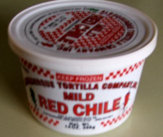 Frozen Red Hatch Chile - get some NOW!